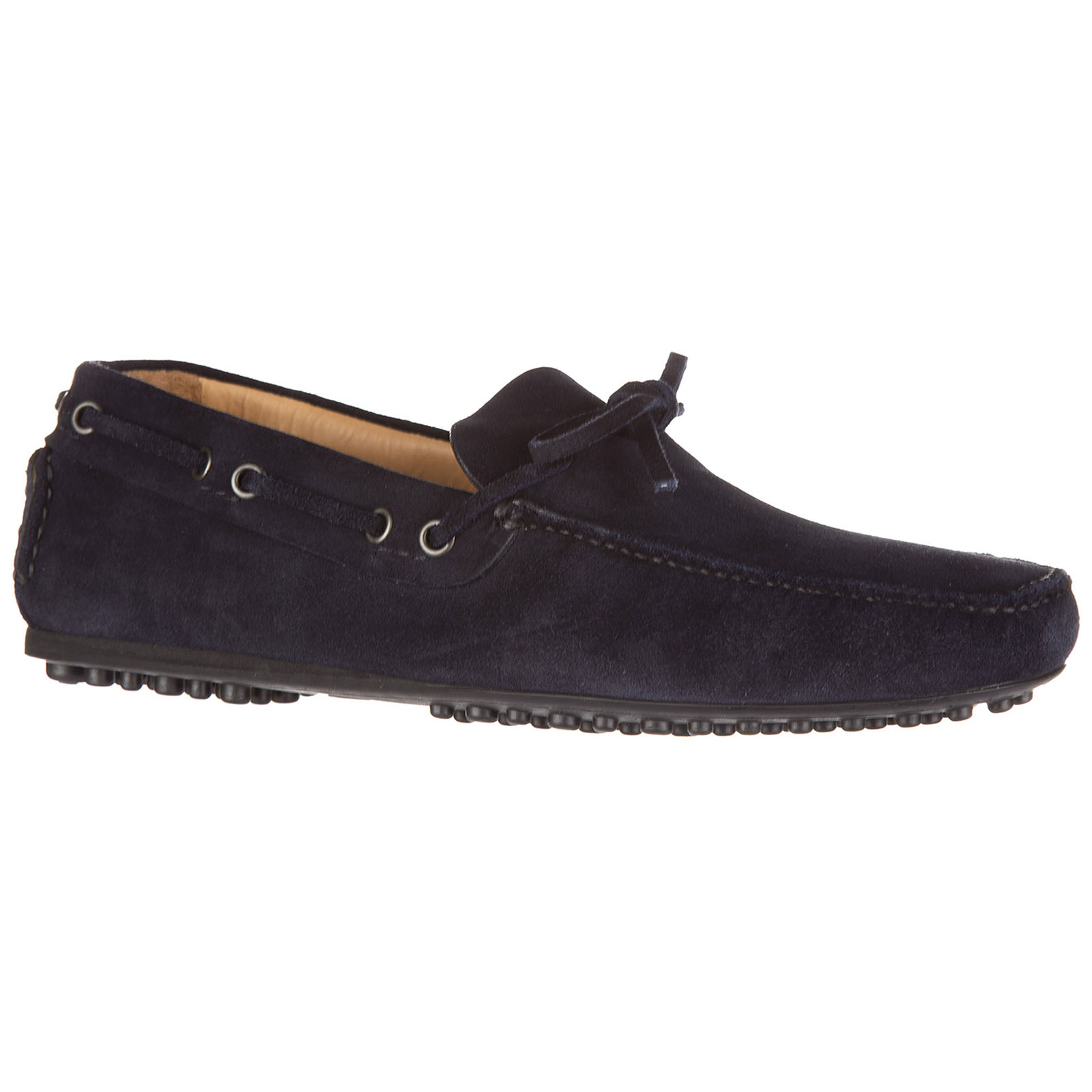 Men's suede loafers moccasins