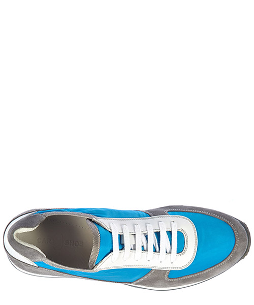 Chaussures baskets sneakers homme en daim royal secondary image