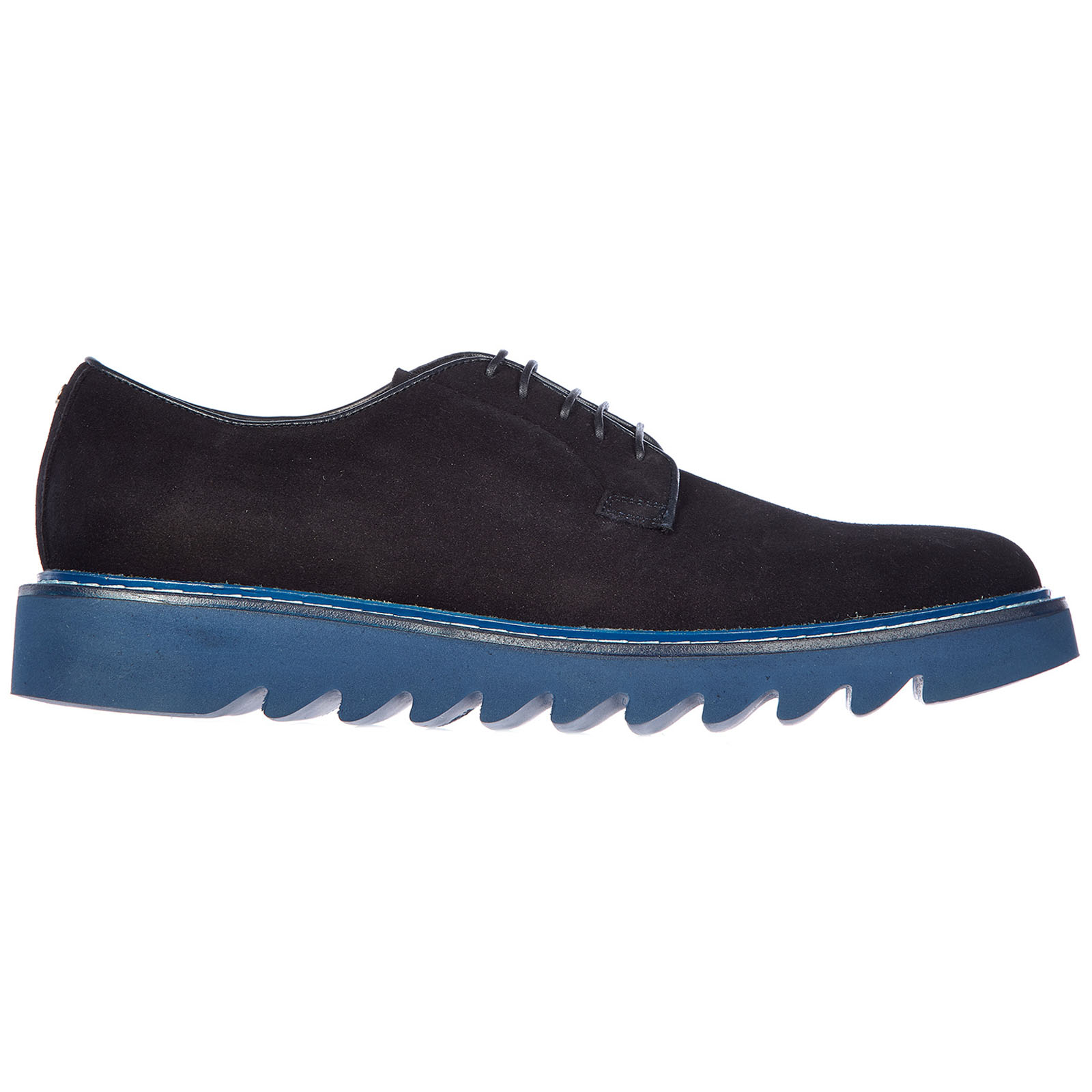 Men's classic suede lace up laced formal shoes derby vitello