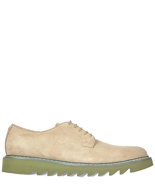 Lace up shoes Cesare Paciotti 47250 beige