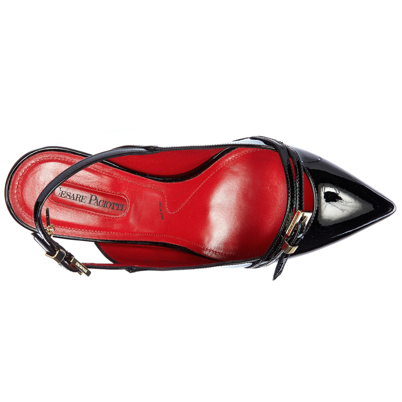 Damenschuhe leder pumps mit absatz high heels vernice luce