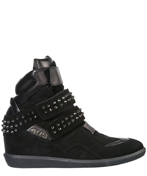 High top sneakers Cesare Paciotti 4US DD1B CAMSOLNELASE black