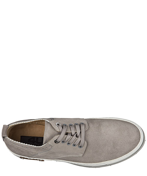 Chaussures baskets sneakers homme en daim cannes secondary image