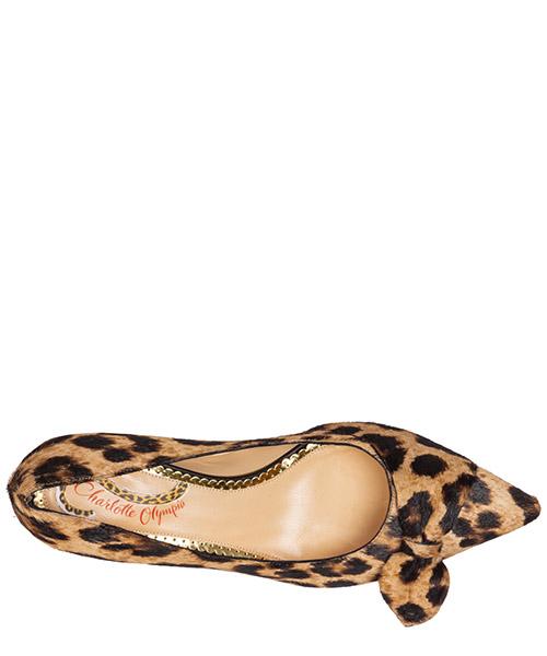 Zapatos de salón escotes mujer en ante secondary image