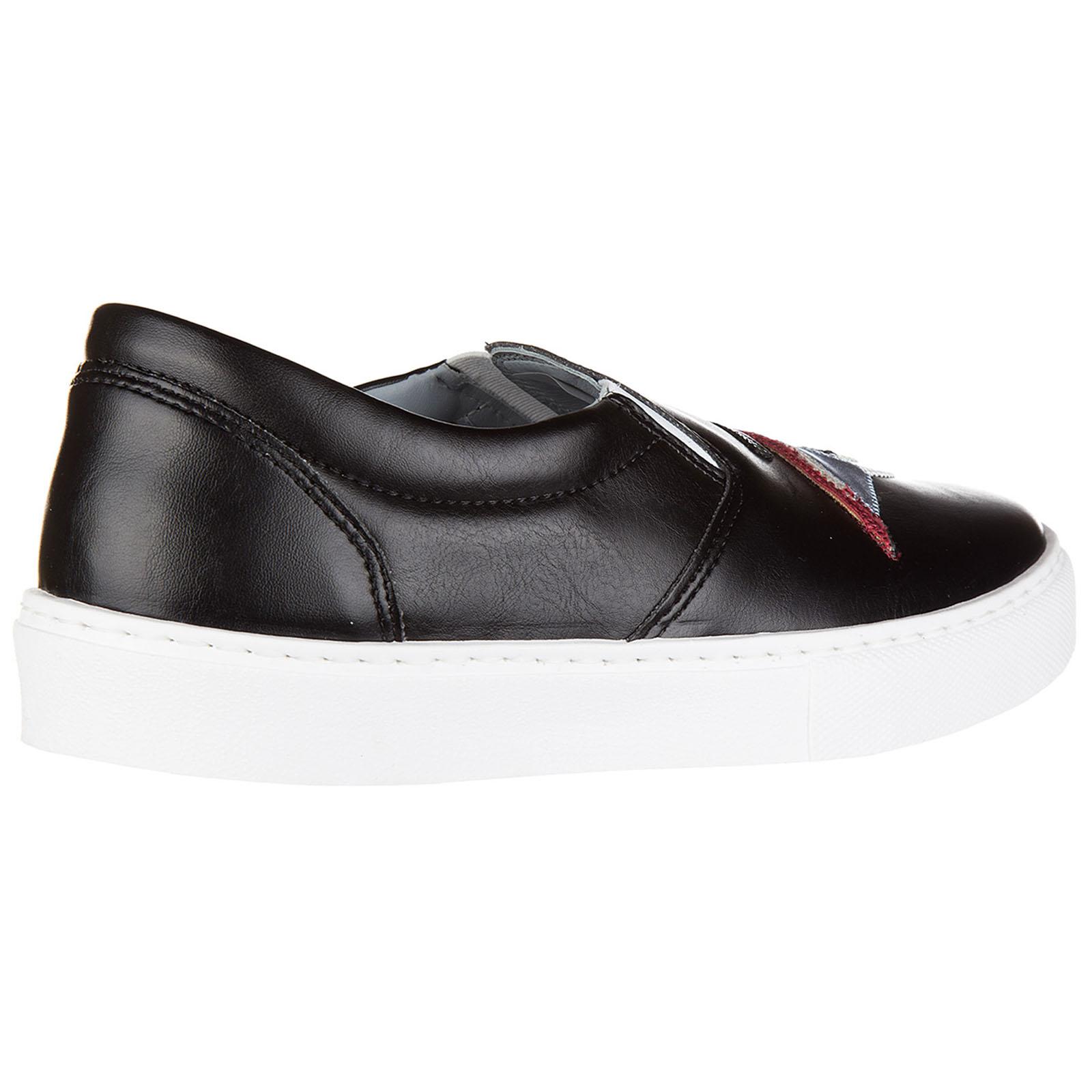 Women's leather slip on sneakers  flirting