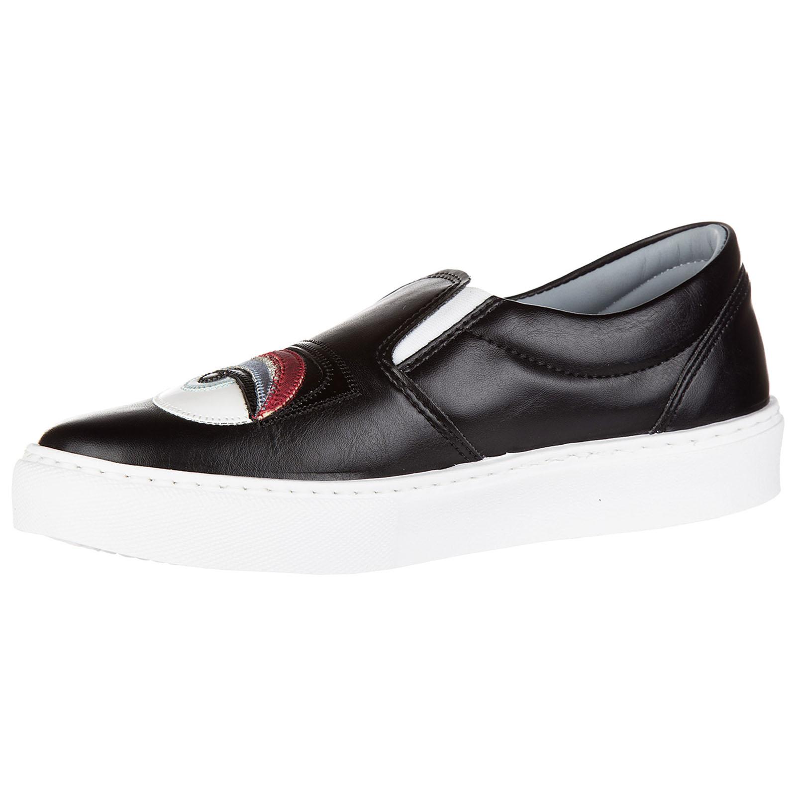 Slip on donna in pelle sneakers  flirting
