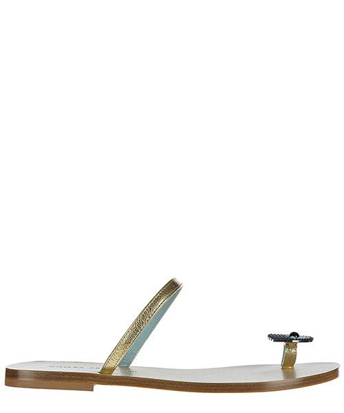 Thong sandals Chiara Ferragni CF1446 oro