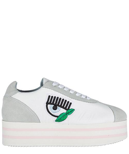 Wedge sneakers Chiara Ferragni CF1715 bianco