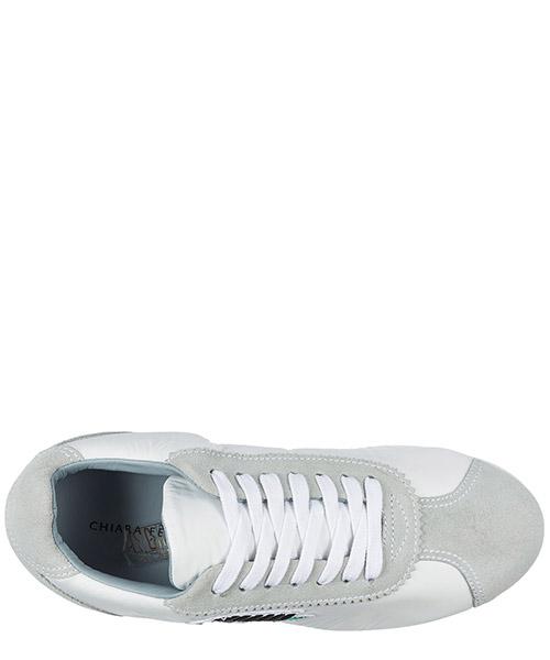 Chaussures baskets sneakers femme en daim secondary image