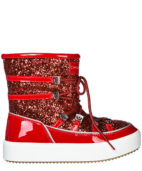 Stivali da neve Chiara Ferragni CF1768 rosso