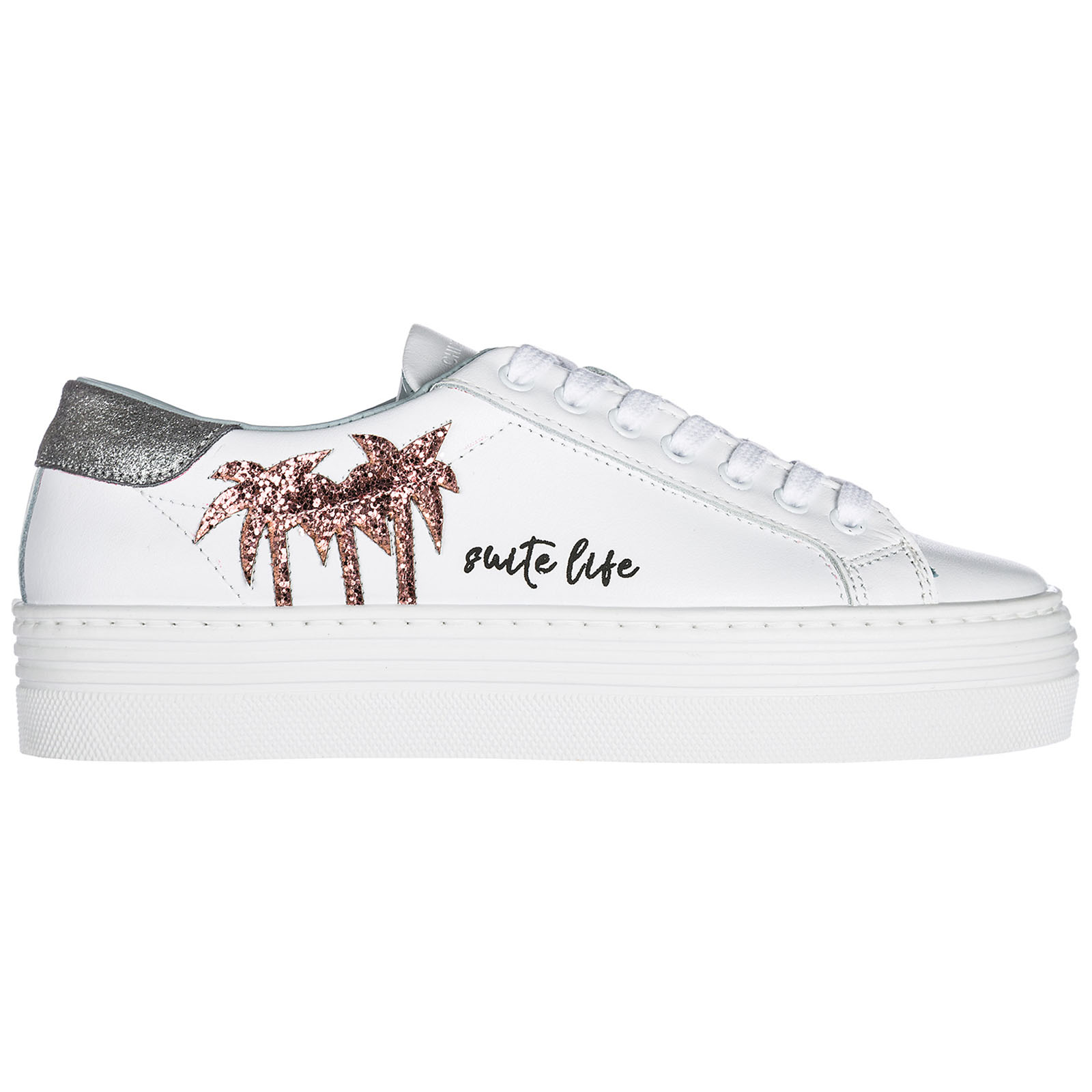 Scarpe sneakers donna in pelle suite