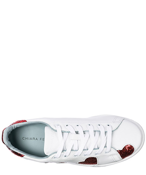 Chaussures baskets sneakers femme en cuir roger secondary image