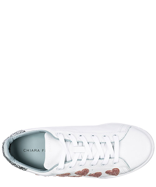 Women's shoes leather trainers sneakers roger secondary image