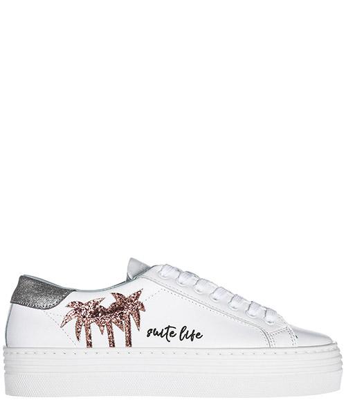 Sneakers con zeppa Chiara Ferragni CF1922 bianco