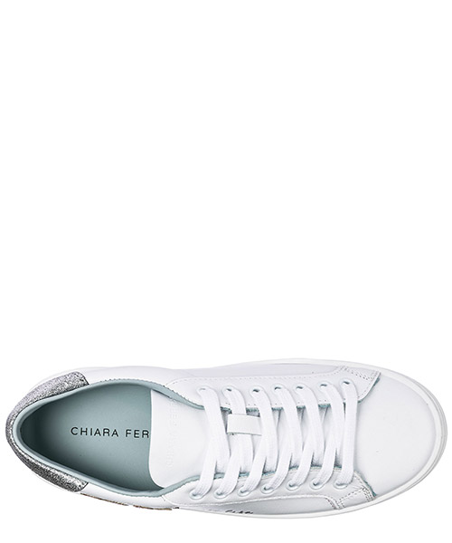 Scarpe sneakers donna in pelle suite secondary image