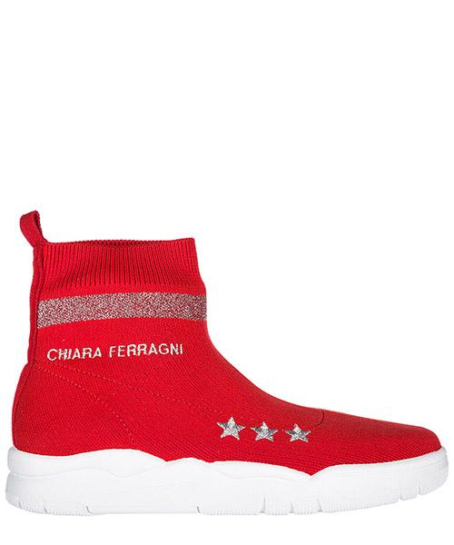 Sneakers alte Chiara Ferragni CF1947 rosso