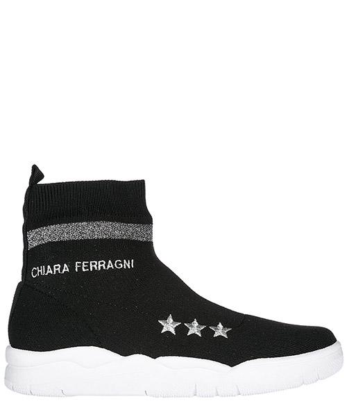 Sneakers alte Chiara Ferragni CF1948 nero