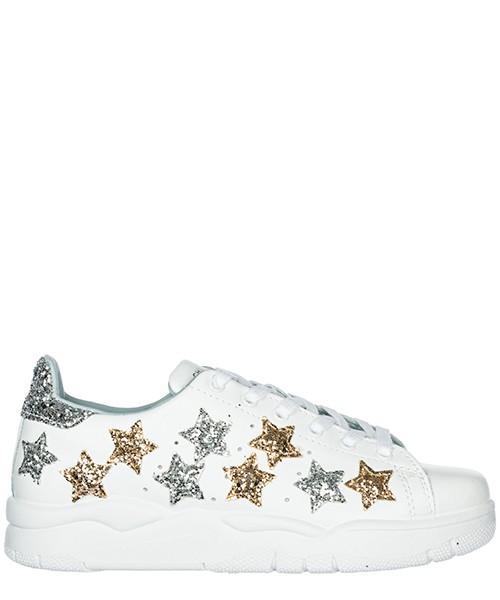 Sneakers Chiara Ferragni Star CF2071 white / silver / gold