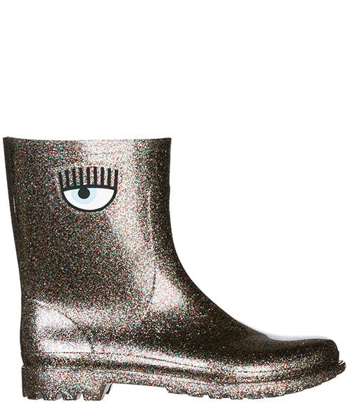 Stivali di gomma Chiara Ferragni Flirting CF2177 grigio