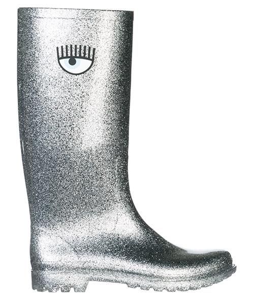 Rubber boots Chiara Ferragni Flirting CF2180 argento