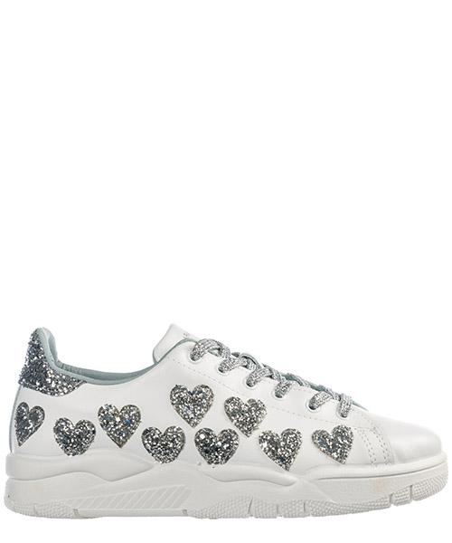 Chiara Ferragni CF2252 white   silver Scarpe sneakers donna ... ab26b7fc047