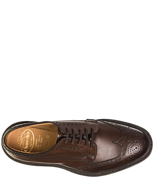 Scarpe stringate classiche uomo in pelle grafton 73 derby secondary image