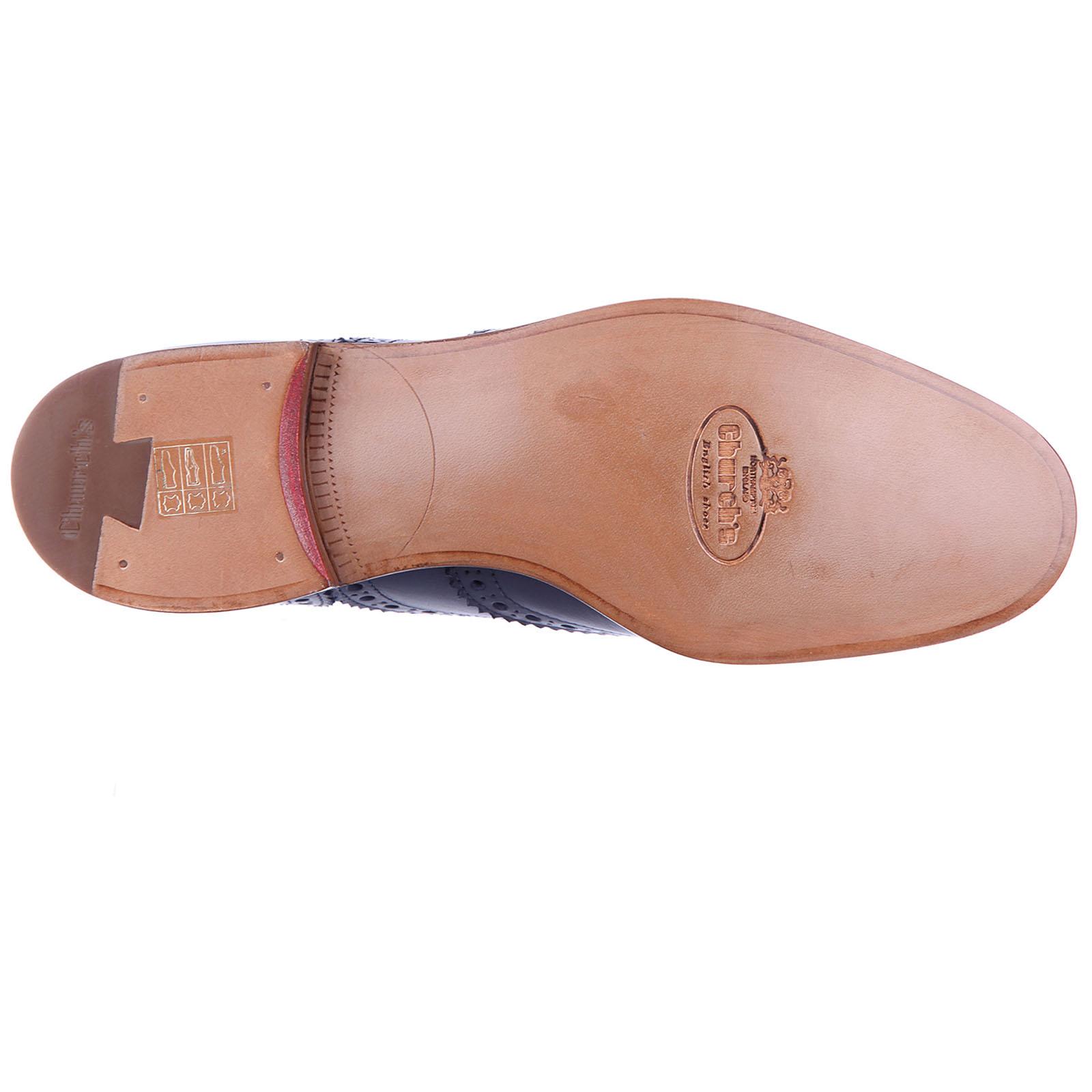 Clásico zapatos de cordones mujer en piel burwood hole brogue