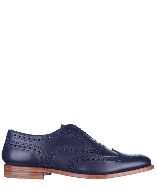 Brogues de tacón alto Church's A73683 9PD F0AHW blu