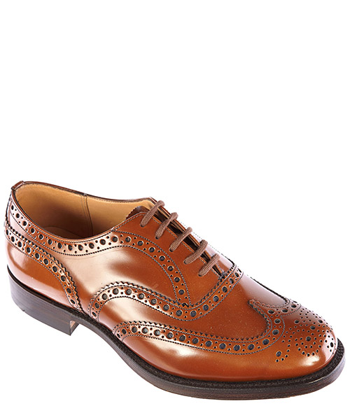 Men's classic leather lace up laced formal shoes brogue secondary image