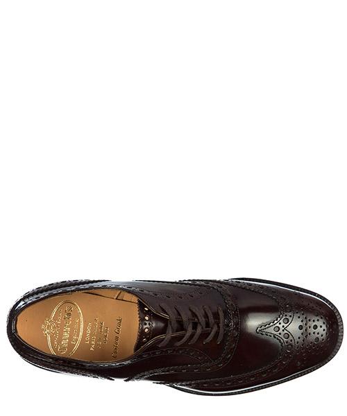 Chaussures à lacets classiques homme en cuir brogue burwood secondary image