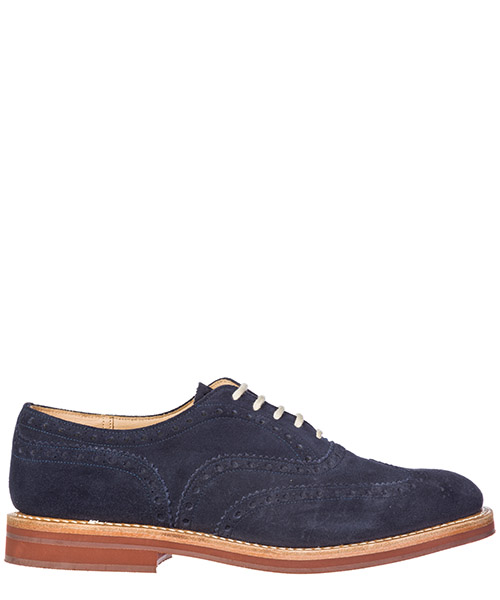 Heeled brogues Church's Downton DOWNTON 6953/39 blue