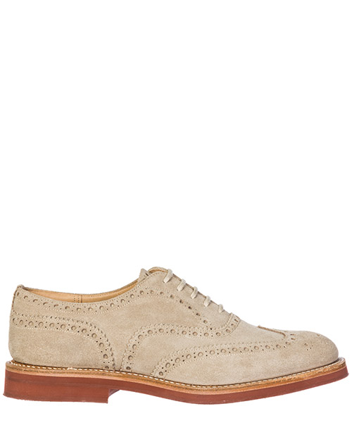 Heeled brogues Church's Downton DOWNTON 6953/88 sand