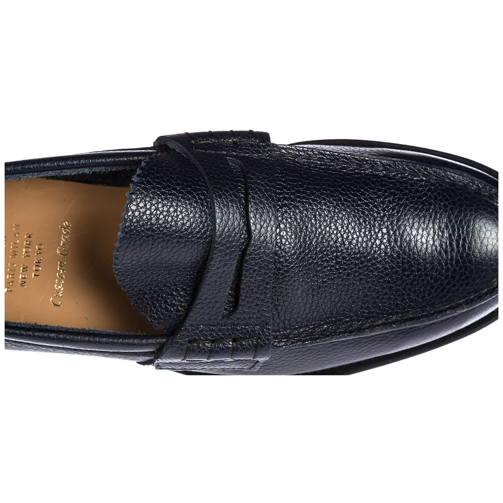 Men's leather loafers moccasins  pembrey