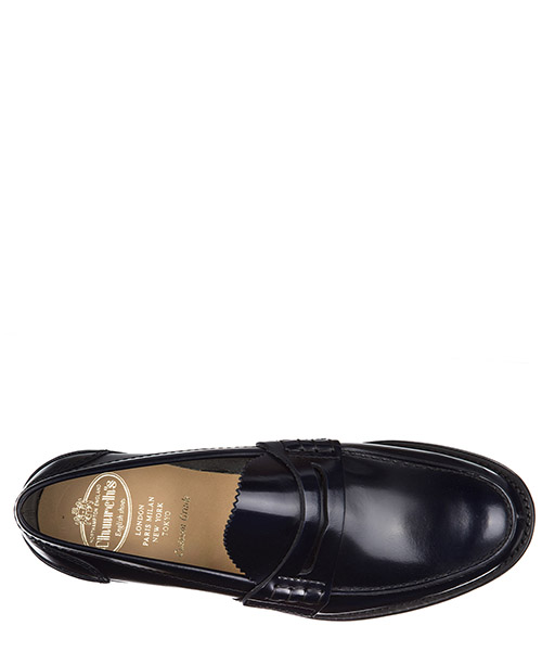 Men's leather loafers moccasins  tunbridge secondary image