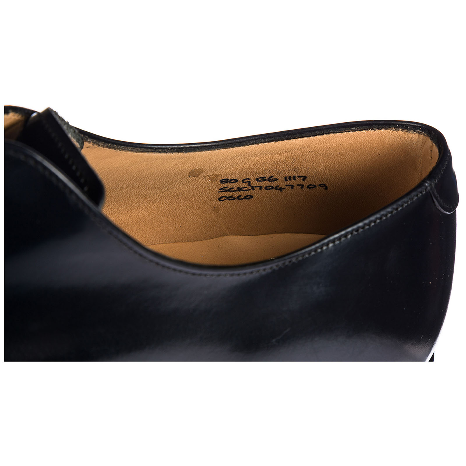 Clásico zapatos de cordones hombres en piel oslo derby