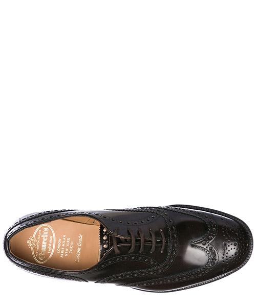 Scarpe stringate classiche uomo in pelle burwood secondary image