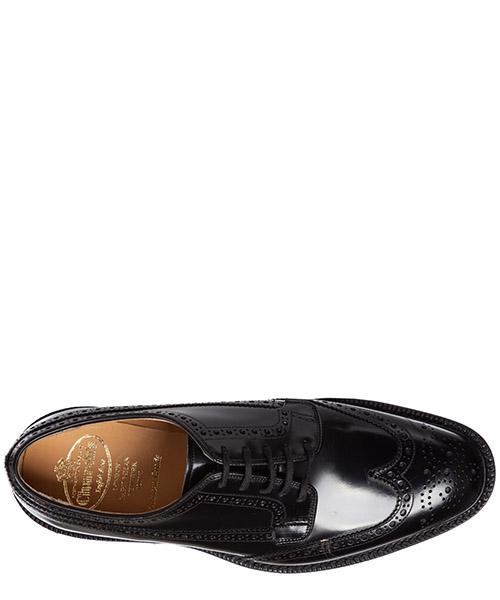 Clásico zapatos de cordones hombres en piel derby brogue grafton secondary image