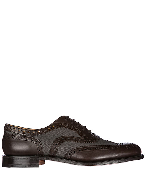 Schnürschuhe Church's Burwood EEB0639ACIF0ATG brown - grey