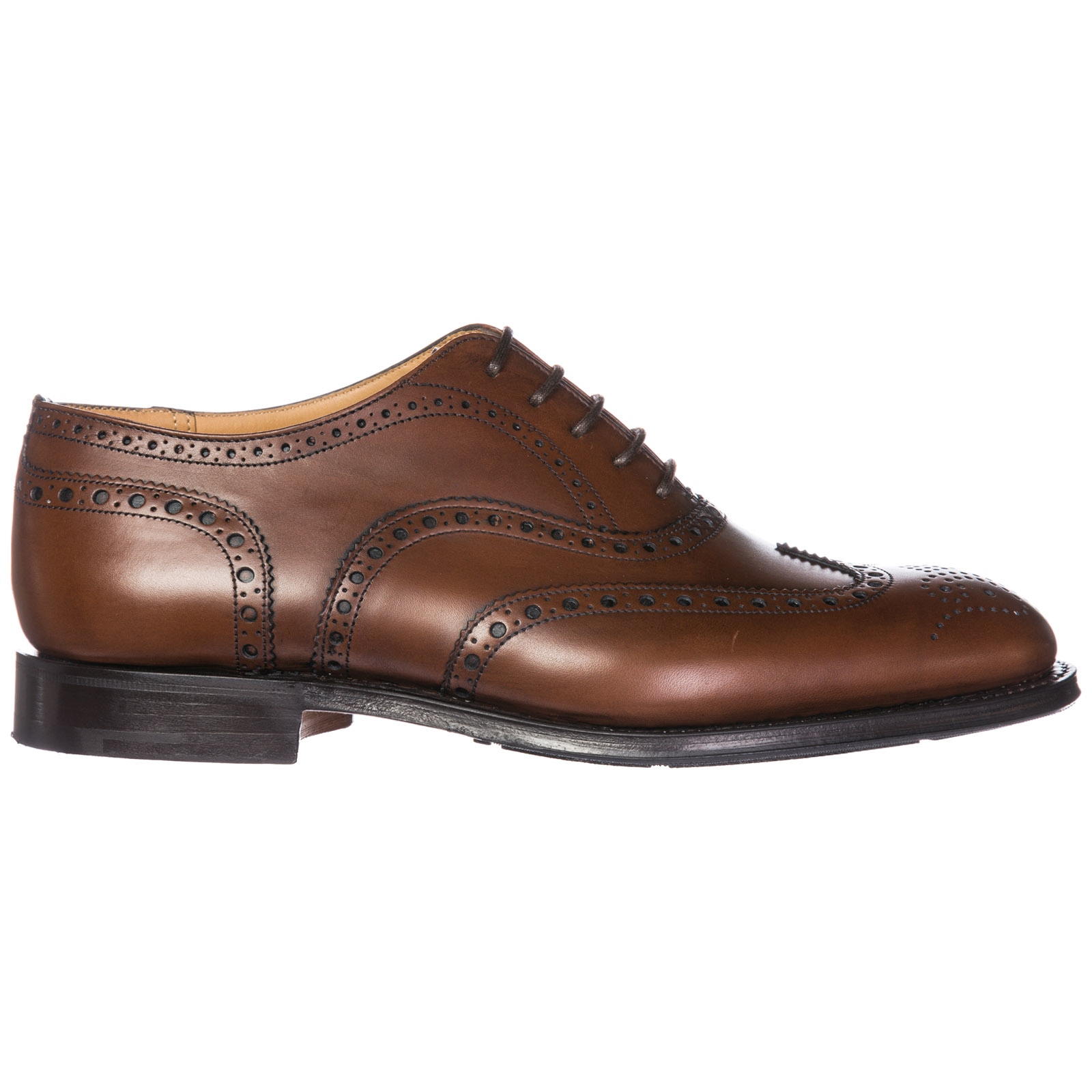 Men's classic leather lace up laced formal shoes tarvin brogue