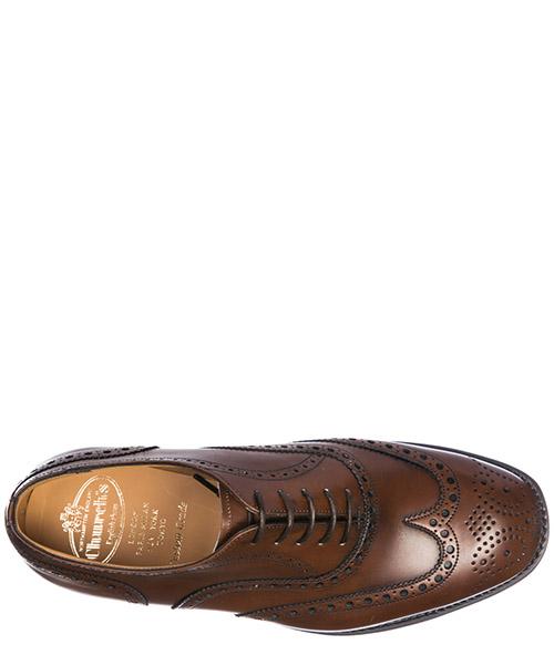 Clásico zapatos de cordones hombres en piel tarvin brogue secondary image