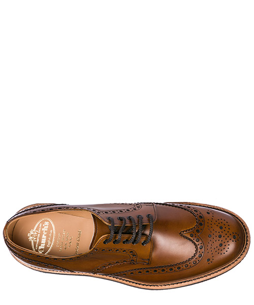 Men's classic leather lace up laced formal shoes tewin derby secondary image