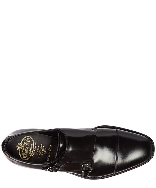 Clásico zapatos en piel hombres monk strap saltby secondary image