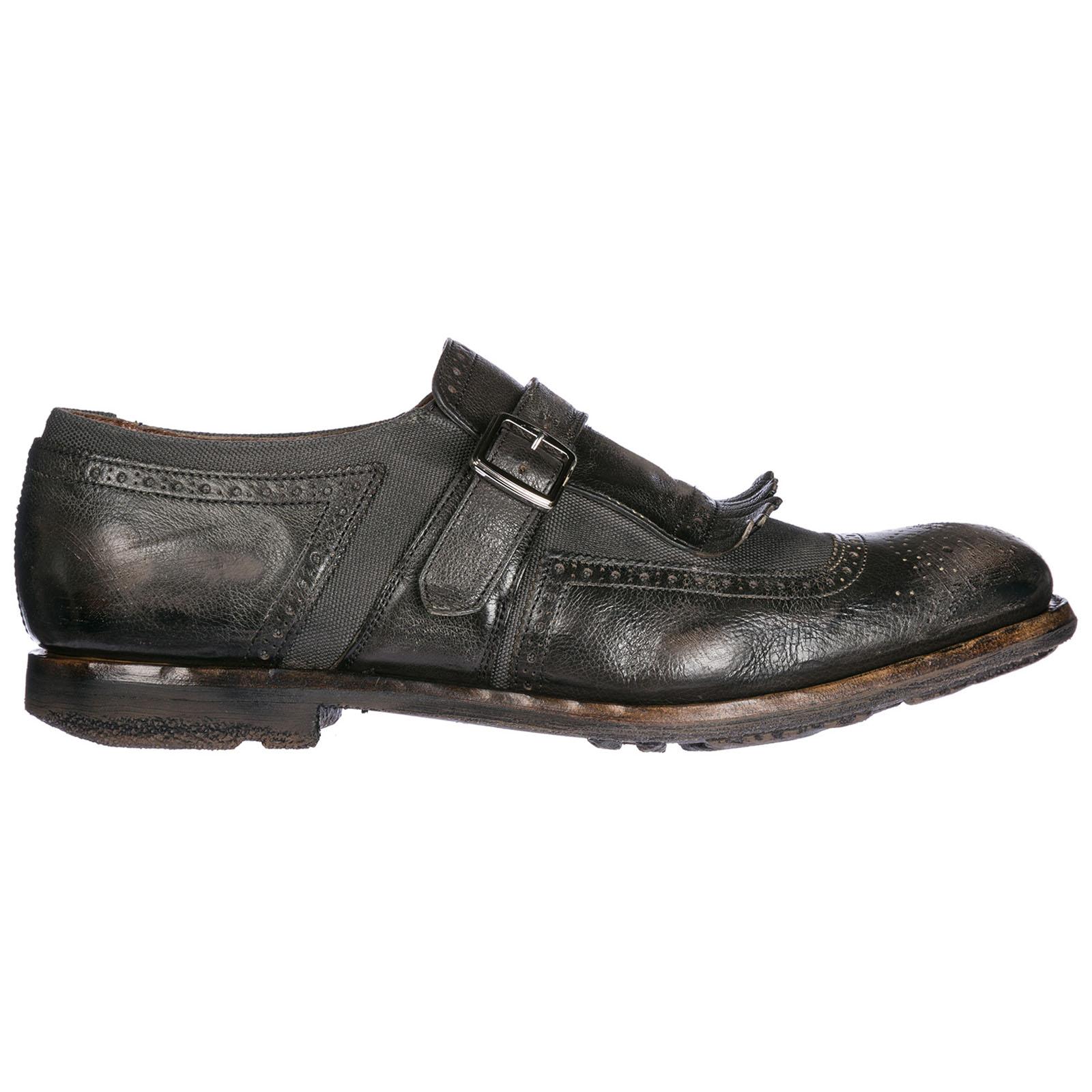 Scarpe classiche uomo in pelle monkstrap