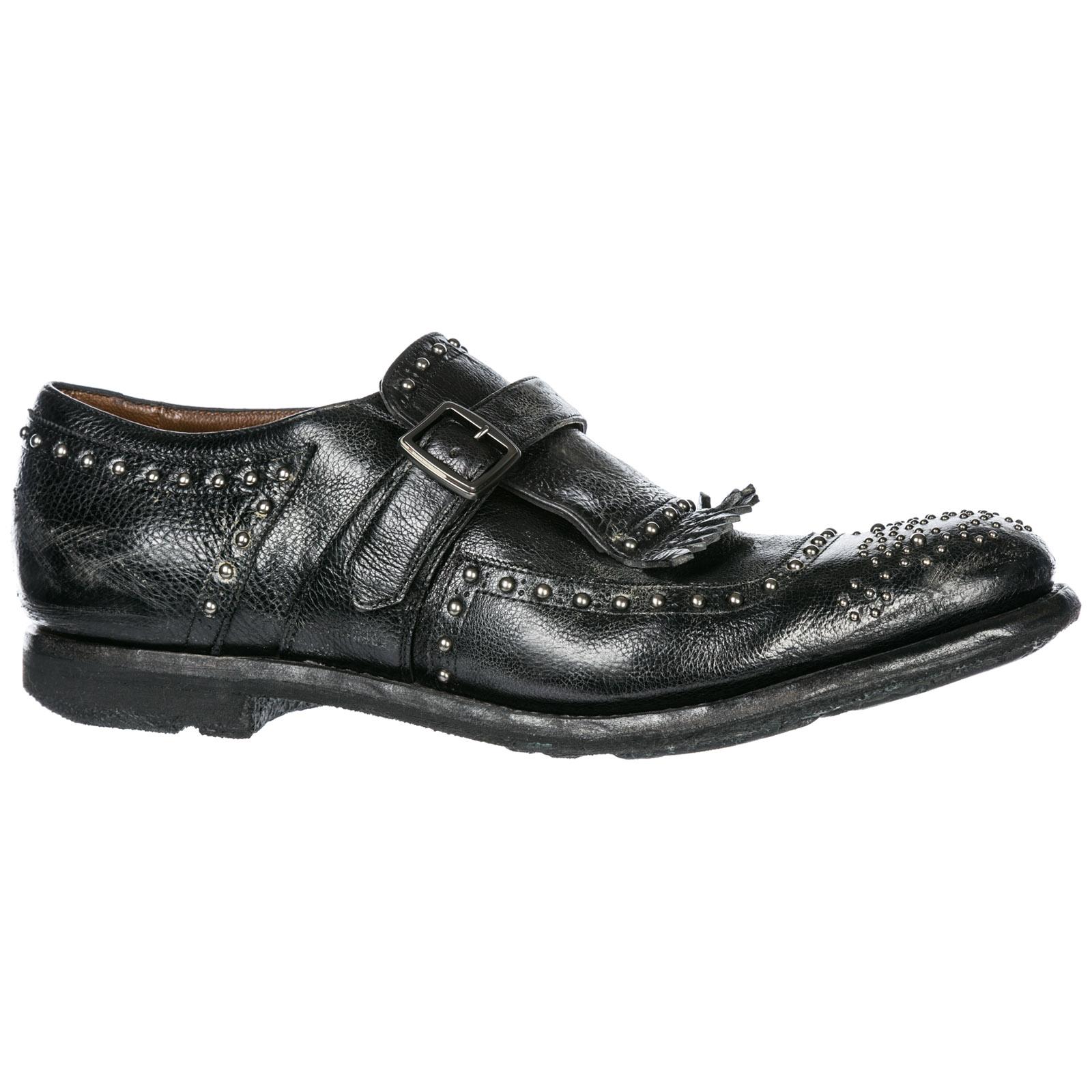 Men's classic leather formal shoes slip on shangai