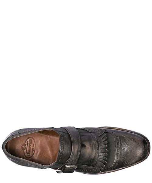 Chaussures habillées classiques homme en cuir monkstrap secondary image