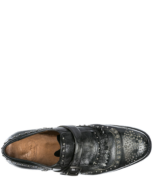 Herren leder formal business slipper schuhe shangai secondary image