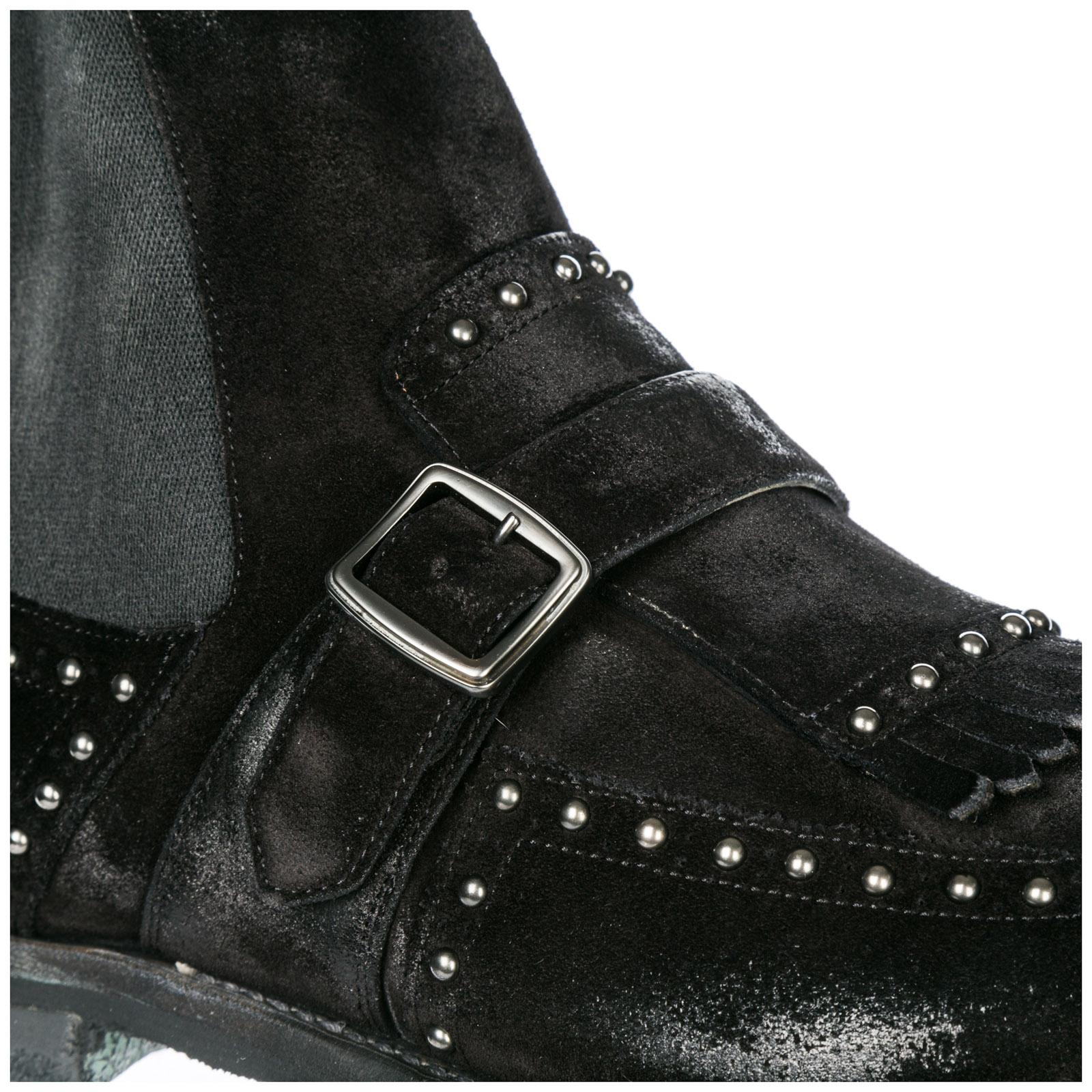 nuovo prodotto ebc15 3317c Stivaletti stivali uomo in camoscio shanghai