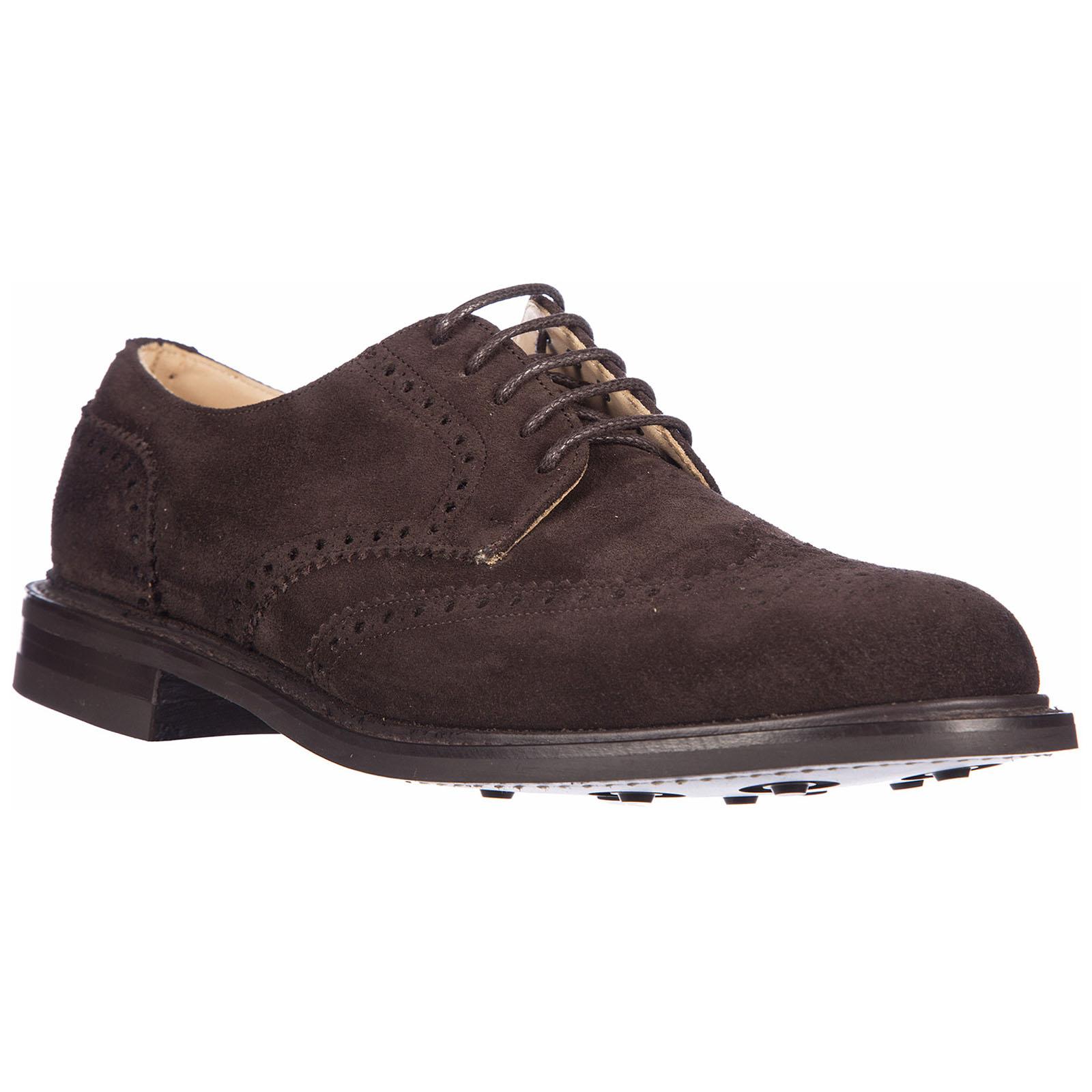 Clásico zapatos de cordones en ante hombres derby new ark castoro