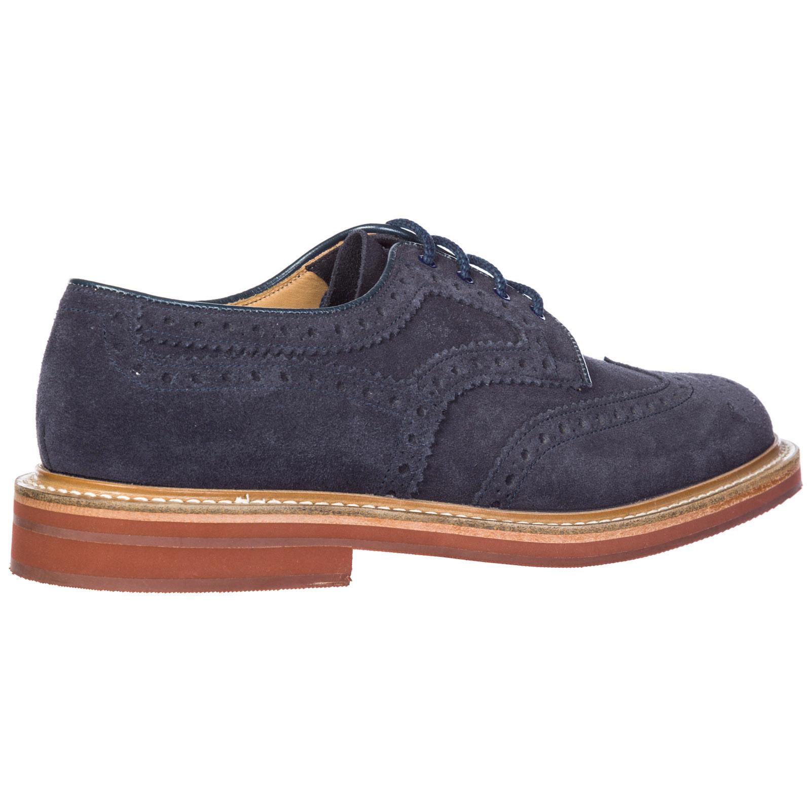 Clásico zapatos de cordones en ante hombres orby