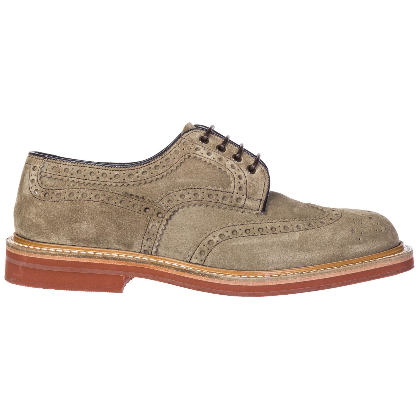 Chaussures à lacets classiques homme en daim orby